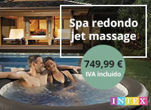 Spa Intex redondo jet massage